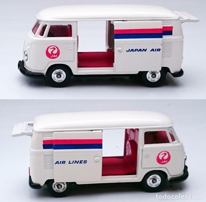 Coches a escala: TOMICA DANDY KADO VOLKSWAGEN VW COMBI JAPAN AIRLINES - Foto 9 - 93917625
