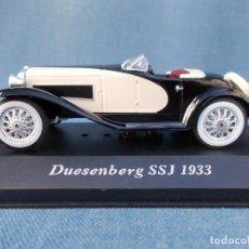 Coches a escala: DUESENBERG SSJ (1933). Lote 94072785
