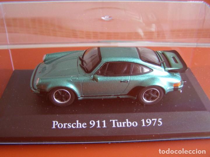 PORSCHE 911 TURBO DE 1975, EDICIONES ATLAS, COLECCION SUIZA, ESCALA 1/43 (Juguetes - Coches a Escala 1:43 Otras Marcas)