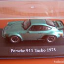 Coches a escala: PORSCHE 911 TURBO DE 1975, EDICIONES ATLAS, COLECCION SUIZA, ESCALA 1/43. Lote 111565786