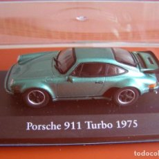 Coches a escala: PORSCHE 911 TURBO DE 1975, EDICIONES ATLAS, COLECCION SUIZA, ESCALA 1/43. Lote 111565786