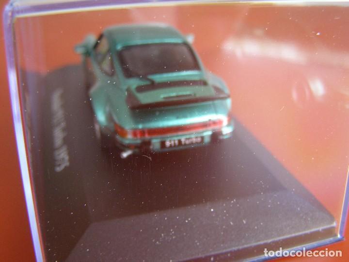 Coches a escala: PORSCHE 911 TURBO DE 1975, EDICIONES ATLAS, COLECCION SUIZA, ESCALA 1/43 - Foto 3 - 111565786
