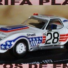 Model Cars - CHEVEROLET CORVETTE STINGRAY 24 HORAS DE LEMANS 1972 ESCALA 1:43 ALTAYA EN CAJA - 95388991