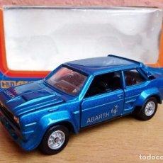 Coches a escala: TOMICA DANDY F20 SERIE ITALIA FIAT 131 ABARTH - AZUL METALIZADO. Lote 95614587