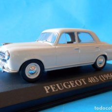 Coches a escala: PEUGEOT 403 1956--1/43-ALTAYA- --LUGOY. Lote 95762359