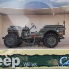 Coches a escala: JEEP WILLYS II GUERRA MUNDIAL. Lote 95837067