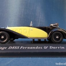 Coches a escala: DELAGE D8SS FERNÁNDEZ & DARRIN (1932). Lote 95838019