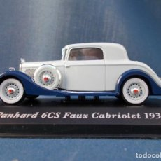 Coches a escala: PANHARD 6CS FAUX CABRIOLET (1935). Lote 95838075