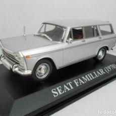 Coches a escala: COCHE SEAT 1500 FAMILIAR 1970 ALTAYA IXO MODEL CAR 1/43 1:43 MINIATURE FIAT. Lote 205701596