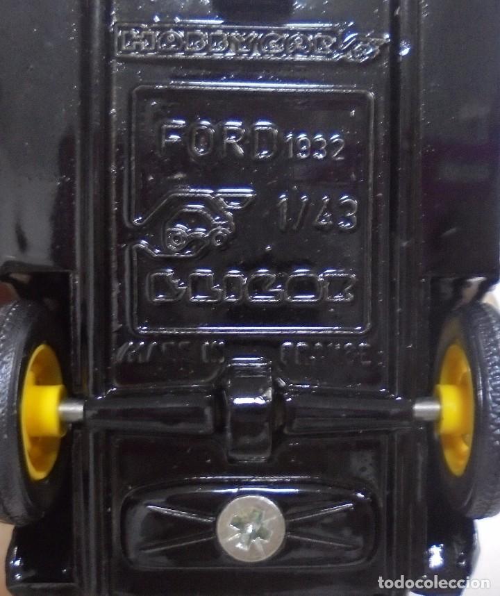 Coches a escala: COCHE MINIATURA. MARCA ELICOR. FORD 1932. VER - Foto 6 - 96837087
