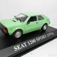 Coches a escala: 2100 1/43 COCHE SEAT 1200 SPORT 1976 CAR ALTAYA IXO 1:43 MINIATURA 1/43 AUTO FIAT. Lote 97053587