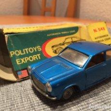 Coches a escala: POLITOYS AUTOBIANCHI PRIMULA COUPE. Lote 98675795
