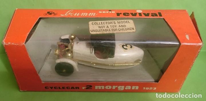 Coches a escala: BRUMM SERIE REVIVAL CICLECAR R2 MORGAN 1923 - Foto 7 - 98769455