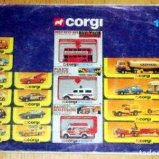 Coches a escala: CORGI CATALOGO AÑO 1983 EDITADO INGLATERRA. Lote 99850343
