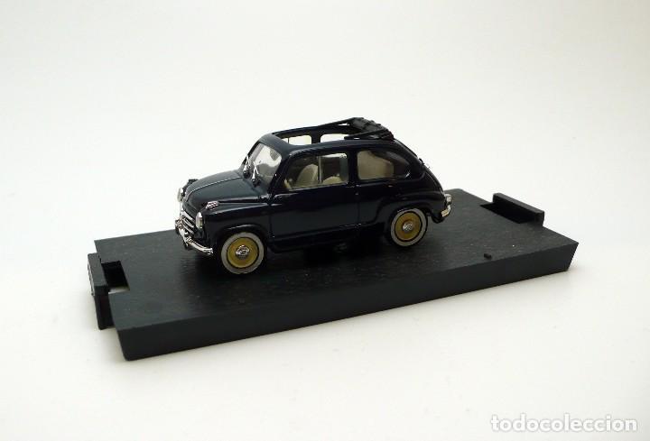 Coches a escala: BRUMM-Coche escala 1/43 Fiat 600 Trasformabile 1956 aperta- en caja - Foto 3 - 101894435