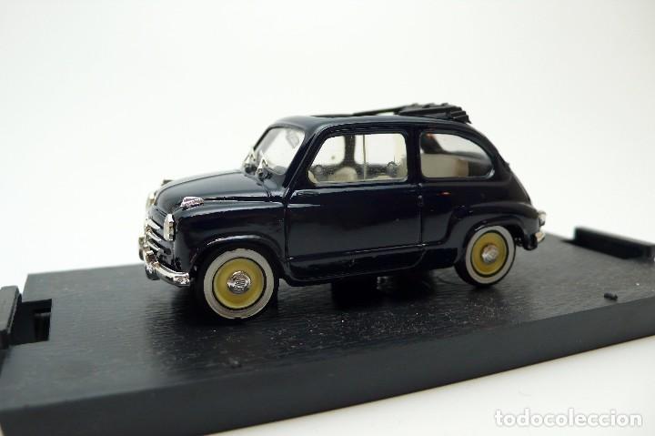Coches a escala: BRUMM-Coche escala 1/43 Fiat 600 Trasformabile 1956 aperta- en caja - Foto 4 - 101894435