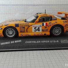 Coches a escala: CHRYSLER VIPER GTS-R 2000 24 HORAS DE LE MANS ALTAYA 1/43. Lote 103731027