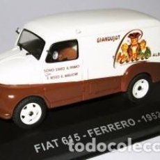 Coches a escala: COCHE A ESCALA FIAT 615 FERRERO 1962 NUEVO EN CAJA EXPOSITORA SIN ABRIR. Lote 293726138
