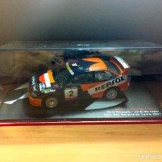 Coches a escala: SEAT CORDOBA WRC - RALLY RAC NAVARRA DE TIERRA 2001 - ALTAYA-IXO 1:43. Lote 104286651