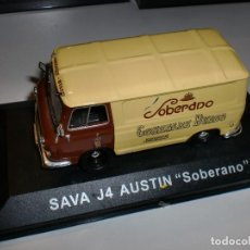 Coches a escala: SAVA J4 AUSTIN SOBERANO - 1;43 - COLECCIÓN ALTAYA - CAJA ORIGINAL. Lote 104286799