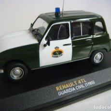 Coches a escala: COCHE RENAULT 4 L GUARDIA CIVIL 1982 ESCALA 1/43. Lote 104328539