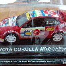 Coches a escala: TOYOTA COROLLA WRC RALLY MONZA 2004 ROSSI CASSINA 1/43 ALTAYA IXO . Lote 105129687