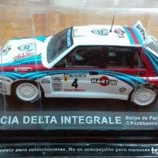 Coches a escala: LANCIA DELTA INTEGRALE RALLY DE PORTUGAL 1992 1/43 ALTAYA IXO . Lote 105129843