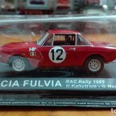 Coches a escala: LANCIA FULVIA RAC RALLY 1969 1/43 ALTAYA IXO . Lote 105129891