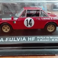 Coches a escala: LANCIA FULVIA HF RALLY DE MONTECARLO 1972 1/43 ALTAYA IXO . Lote 105129943
