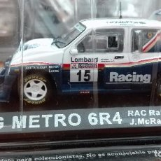 Coches a escala - MG METRO 6R4 RAC RALLY 1986 1/43 ALTAYA IXO - 105130083