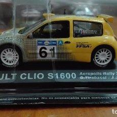 Coches a escala: RENAULT CLIO S1600 ACROPOLIS RALLY 2003 1/43 ALTAYA IXO . Lote 105130479