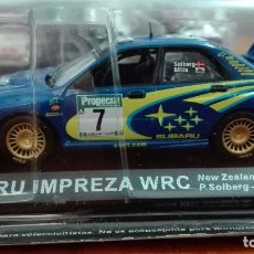 Coches a escala: SUBARU IMPREZA WRC NEW ZEALAND RALLY 2003 1/43 ALTAYA IXO . Lote 105130691