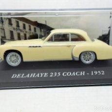 Auto in scala: 1/43 COCHE DELAHAYE 235 COACH 1952 CAR MINIATURE 1:43 ALTAYA IXO ALFREEDOM. Lote 131750210