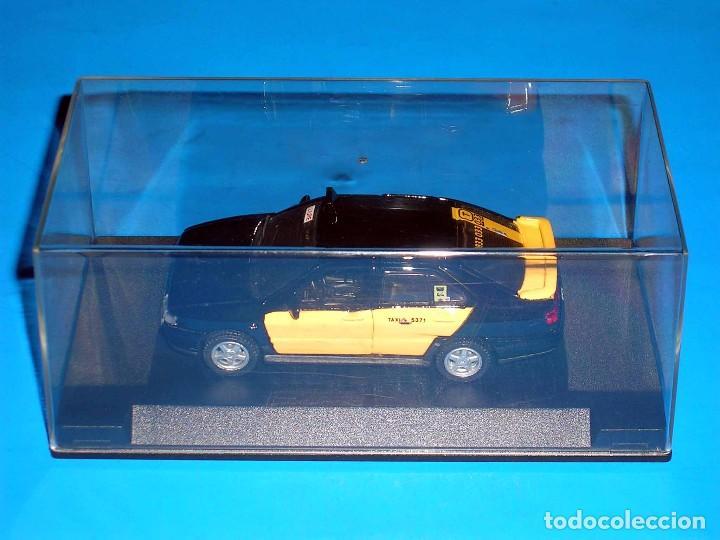 Coches a escala: Seat Toledo 1ª serie, Taxi Barcelona, metal esc. 1/43, Kit Car 43, base Pilen AHC. Impecable - Foto 2 - 158544697