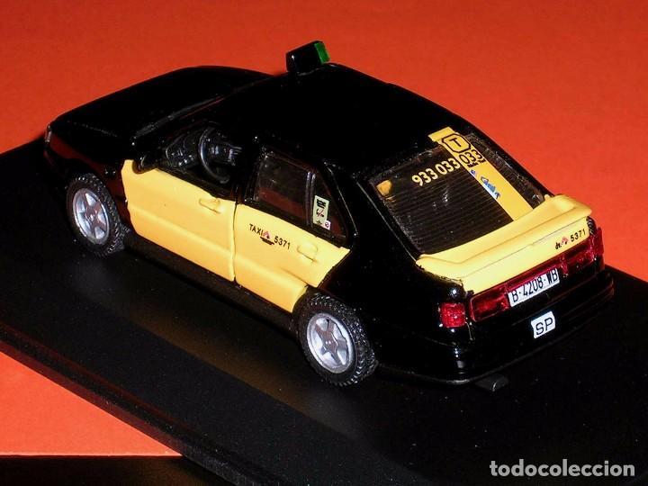 Coches a escala: Seat Toledo 1ª serie, Taxi Barcelona, metal esc. 1/43, Kit Car 43, base Pilen AHC. Impecable - Foto 4 - 158544697