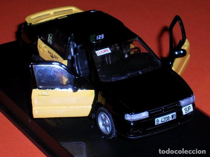 Coches a escala: Seat Toledo 1ª serie, Taxi Barcelona, metal esc. 1/43, Kit Car 43, base Pilen AHC. Impecable - Foto 6 - 158544697