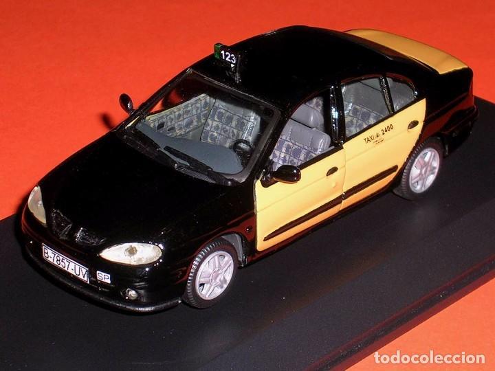 Coches a escala: Renault Megane, Taxi Barcelona, metal esc. 1/43, Kit Car 43, base Vitesse. Impecable - Foto 3 - 105648547