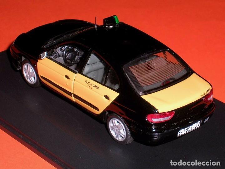 Coches a escala: Renault Megane, Taxi Barcelona, metal esc. 1/43, Kit Car 43, base Vitesse. Impecable - Foto 4 - 105648547