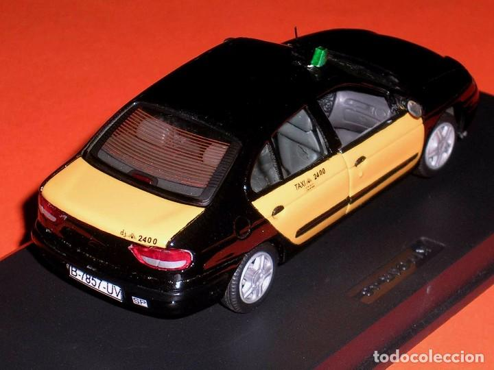 Coches a escala: Renault Megane, Taxi Barcelona, metal esc. 1/43, Kit Car 43, base Vitesse. Impecable - Foto 5 - 105648547