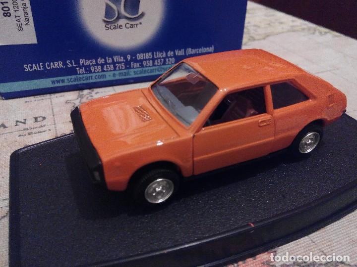 SCALE CARR SEAT 1200 SPORT NARANJA NUEVO 1/43 CON LOS MOLDES DE MIRA ,PILEN (Juguetes - Coches a Escala 1:43 Otras Marcas)