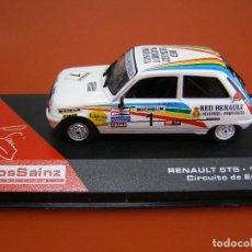 Model Cars - RENAULT 5TS DE 1982, CIRCUITO DE ESTORIL, COLECCION CARLOS SAINZ ALTAYA. - 107779647
