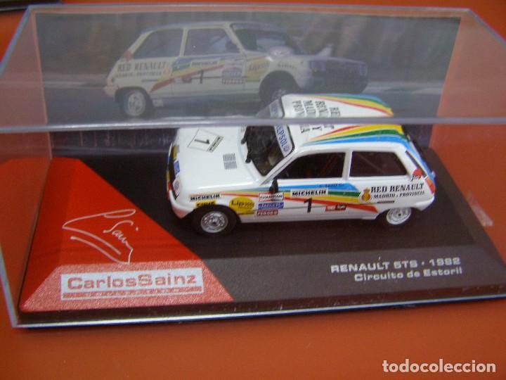 Coches a escala: RENAULT 5TS DE 1982, CIRCUITO DE ESTORIL, COLECCION CARLOS SAINZ ALTAYA. - Foto 4 - 107779647