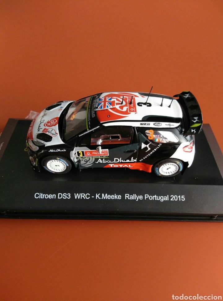 CITROEN DS 3 WRC RALLY PORTUGAL 2015, MINIPARTES EDICIÓN ESPECIAL 1/43 (Juguetes - Coches a Escala 1:43 Otras Marcas)