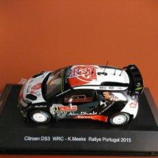 Coches a escala: CITROEN DS 3 WRC RALLY PORTUGAL 2015, MINIPARTES EDICIÓN ESPECIAL 1/43. Lote 108250940