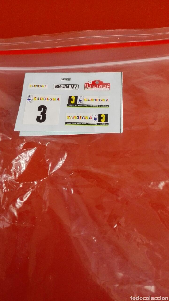 Coches a escala: CITROEN DS 3 WRC RALLY PORTUGAL 2015, MINIPARTES EDICIÓN ESPECIAL 1/43 - Foto 6 - 108250940