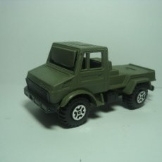 Coches a escala: MERCEDES UNIMOG EJERCITO MILITAR GUISVAL 1,43. Lote 35057807