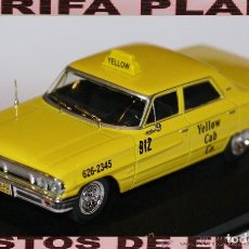Coches a escala: FORD GALAXI 500 TAXI NEW YORK ESCALA 1:43 DE WHITE BOX EDICION LIMITADA A 1000 PCS EN CAJA. Lote 108924019