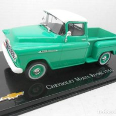 Coches a escala: COCHE CHEVROLET MARTA ROCHA 1956 METAL MODEL CAR 1/43 1:43 SALVAT MINIATURE. Lote 186363297
