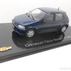 Coches a escala: COCHE CHEVROLET CELTA SUPER 1.4 2006 METAL MODEL CAR 1/43 1:43 SALVAT. Lote 178743592