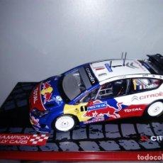 Coches a escala: COCHE CITRÖEN C4 WRC. CHAMPION RALLY CARS. ESCALA 1/43. Lote 109487095